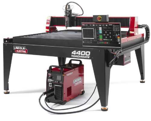Lincoln Torchmate 4400 4ft x 4ft CNC Plasma Cutting Table with FlexCut 125 CE Plasma Cutter BK-LECS-